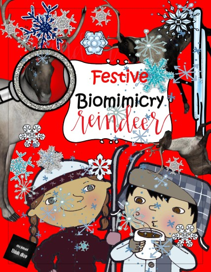 TpT Be a reindeer det cover-page-0